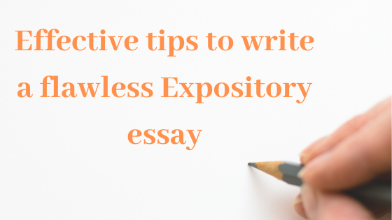 Expository essay blog